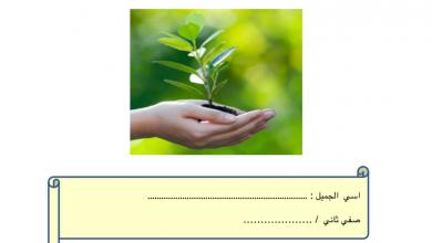 Photo of ملخص ومراجعة شاملة علوم صف ثاني فصل أول