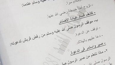 Photo of حل كتاب الاسلامية الصف الثالث الفصل الثاني صفحة 64