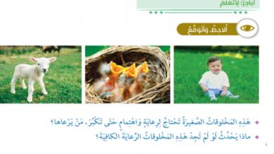 Photo of حل الدرس الاول في التربية الاسلامية برالوالدين للصف الثالث الفصل الاول
