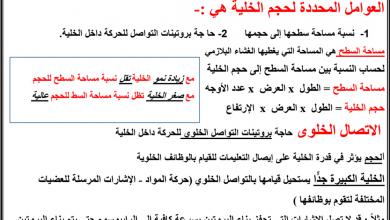 Photo of النمو الخلوي مع الأجوبة أحياء فصل أول صف ثاني عشر