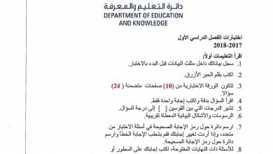 Photo of اسئلة اختبار رياضيات فصل أول صف ثاني عشر
