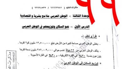 Photo of حل كتاب الفصل الثاني دراسات اجتماعية الصف السابع