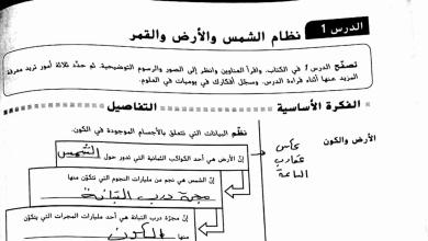 Photo of علوم حل الوحدة الأولى صف سادس فصل ثالث