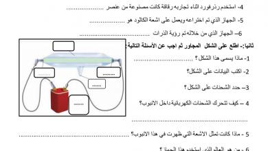 Photo of مراجعة درس تعريف الذرة علوم فصل أول صف تاسع