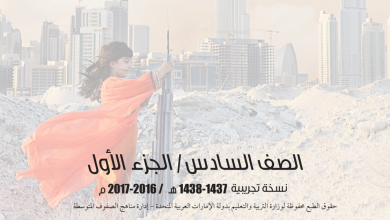 Photo of دليل المعلم لغة عربية الفصل الأول الصف السادس 2017