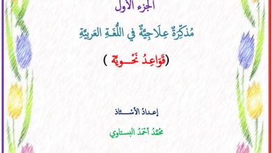 Photo of مذكرة علاجية في مهارات النحو لغة عربية صف خامس