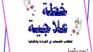 Photo of خطة علاجية للطلاب الضعفاء في اللغة العربية