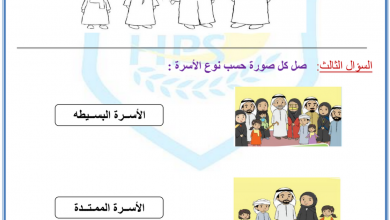 Photo of أوراق عمل دراسات اجتماعية فصل أول صف أول