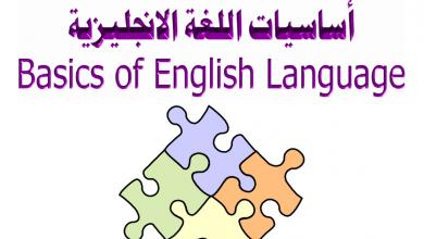 Photo of ملف في أساسيات اللغة الإنجليزية للصف الأول
