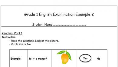 Photo of أوراق عمل 2 لغة إنجليزية فصل أول صف أول