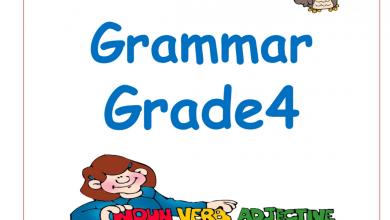 Photo of قواعد لغة انجليزية الصف الرابع الفصل الثالث