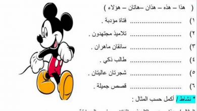 Photo of ملزمة وأوراق عمل (مهارات) في اللغة العربية للصف الثاني