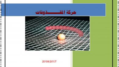Photo of تلخيص المقذوفات فيزياء الصف العاشر متقدم.