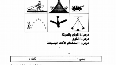 Photo of مراجعة الوحدة 10 القوة والحركة علوم صف ثالث فصل ثالث