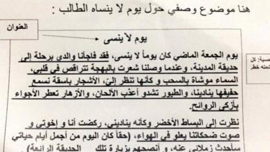 Photo of كيفية كتابة نص وصفي وتلخيص قصة لغة عربية للصف ثالث