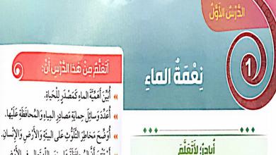 Photo of حل درس نعمة الماء تربية إسلامية صف ثالث فصل ثالث