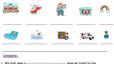 Photo of مراجعة الوحدة 9 لغة انجليزية صف ثالث فصل ثالث