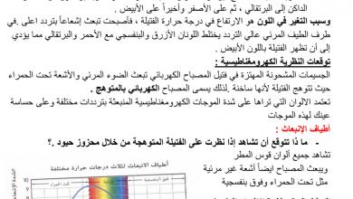 Photo of ملخص نظرية الكم فيزياء الصف الثاني عشر فصل ثالث