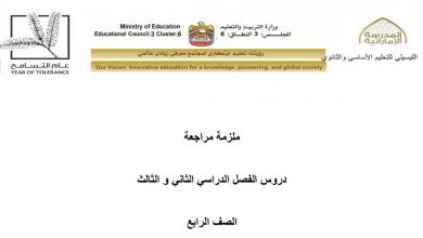 Photo of ملزمة تربية إسلامية فصل ثاني وثالث صف رابع