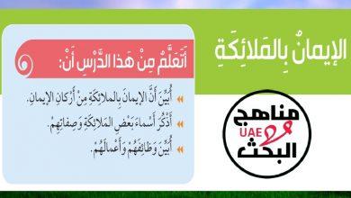Photo of حل درس الايمان بالملائكة اسلامية الصف الثالث فصل اول