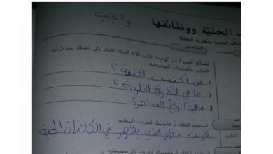 Photo of حل الوحدة الأولى في كتاب الأنشطة أحياء صف تاسع متقدم فصل أول