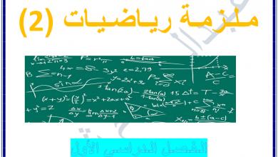 Photo of ملزمة رياضيات النهايات والاتصال صف ثاني عشر متقدم فصل أول