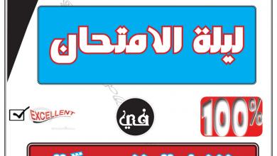 Photo of ملف مراجعة شامل لغة عربية صف حادي عشر فصل أول