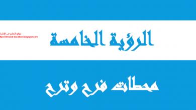 Photo of حل الرؤية الخامسة محطات فرح و ترح دراسات اجتماعية صف ثاني عشر فصل أول