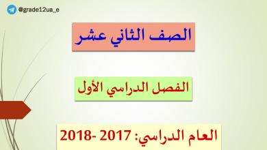 Photo of حلول دروس الفصل الأول لغة عربية صف حادي عشر