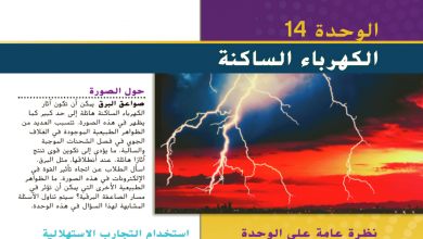 Photo of دليل المعلم الكهرباء الساكنة فيزياء صف ثاني عشر عام فصل أول