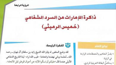 Photo of حل درس ذاكرة الإمارات من السرد الشفاهي دراسات اجتماعية صف حادى عشر الفصل الاول