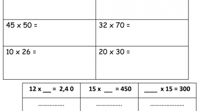 Photo of ورقة عمل الوحدة الخامسة الضرب في العشرات رياضيات صف رابع فصل أول