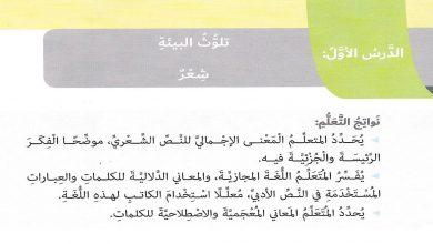 Photo of حل درس تلوث البيئة لغة عربية صف سادس فصل ثاني
