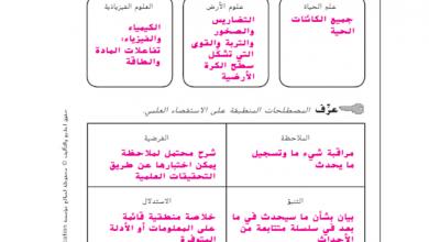 Photo of حل دليل الأنشطة  علوم صف سابع فصل أول