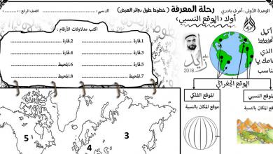 Photo of أوراق عمل شاملة دراسات اجتماعية صف رابع فصل أول