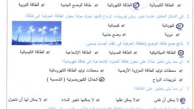 Photo of امتحان نهاية الفصل الأول 2016 – 2017 علوم صف سادس