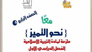 Photo of ملزمة تربية إسلامية صف رابع فصل أول