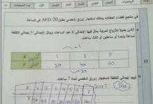 Photo of حل امتحان وزاري رياضيات الصف الثامن 2019-2020 الفصل الاول