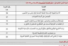 Photo of دليل تصحيح اختبار لغة عربية صف سابع فصل أول 2019 – 2020