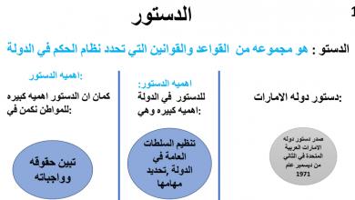Photo of ملخص درس الدستور دراسات اجتماعية صف تاسع فصل أول