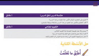 Photo of ملخص درس المياه في بلادي لمادة دراسات اجتماعية صف ثاني فصل ثاني