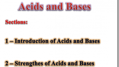 Photo of ملخص الوحدة الخامسة الأحماض والقواعد كيمياء منهج إنجليزي صف ثاني عشر متقدم فصل ثاني