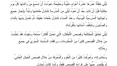 Photo of نص الاستماع شكرًا يا أمي لغة عربية صف ثاني فصل ثاني