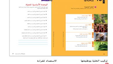 Photo of دليل المعلم الوحدة الثامنة بنية الخلية ووظائفها علوم صف سادس فصل ثاني