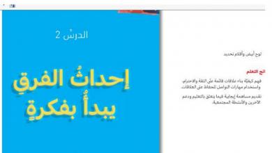 Photo of حل درس إحداث الفرق يبدأ بفكرة تربية أخلاقية صف رابع فصل ثالث