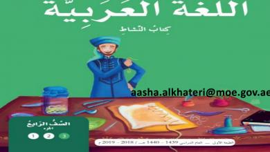 Photo of كتاب النشاط لغة عربية صف رابع فصل ثالث