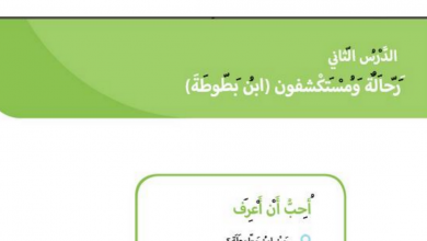 Photo of حل درس رحالة ومستكشفون (ابن بطوطة) دراسات اجتماعية صف أول فصل ثالث