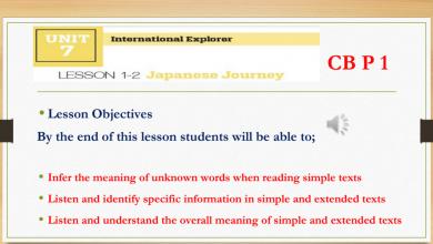Photo of حل درس japanese journey لغة إنجليزية صف تاسع فصل ثالث