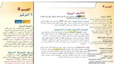 Photo of حل درس التأثيرات البيئية مع مراجعة الوحدة علوم صف تاسع فصل ثالث