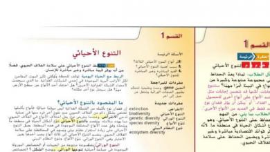 Photo of حل درس التنوع الإحيائي علوم صف تاسع فصل ثالث
